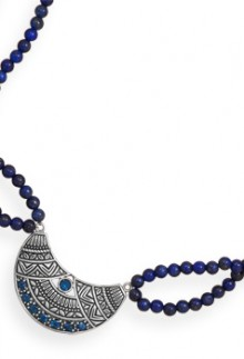 London Blue Tribal Necklace