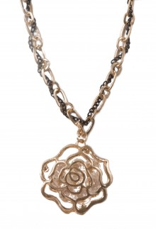 Cor do Mel Rose Necklace