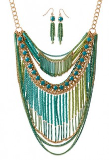 Blue_Green_Bib_Necklace_Set