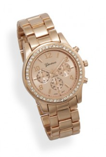 Rose & Crystal Watch